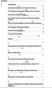 Template Business Studies Work Schedule Template