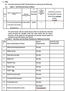 Template Corporation Schedule Contract Payment Template