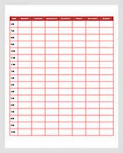 Template Daily Employee Schedule Template Free Download 1