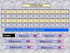 Template Free PowerPoint Timetable Calendar Schedule Template