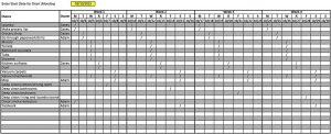 Template House Cleaning Schedule Template Free Excel Format