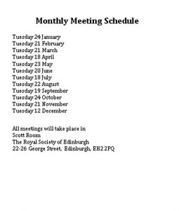 Template Monthly Meeting