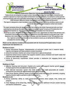 Template Monthly Student Performance Report Template