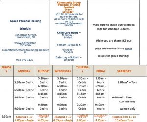 Template Personal Training