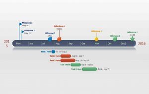 Template PowerPoint Timeline Template