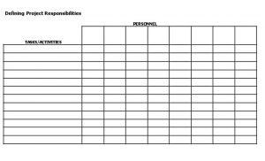 Template Project Managemenet Reporting Schedule Form PDF Download