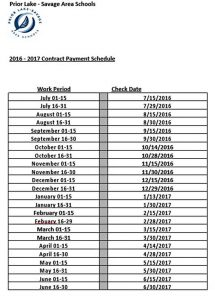 Template School Contract Payment Schedule Template