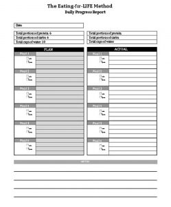 Template Weekly Workout Schedule PDF
